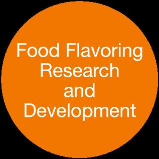フレーバー(食品)の研究開発