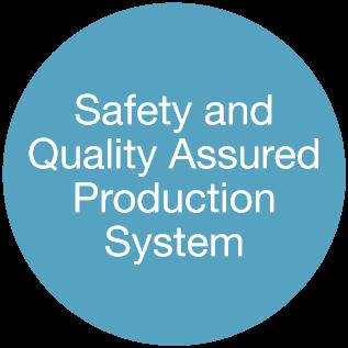 安心・安全な生産体制